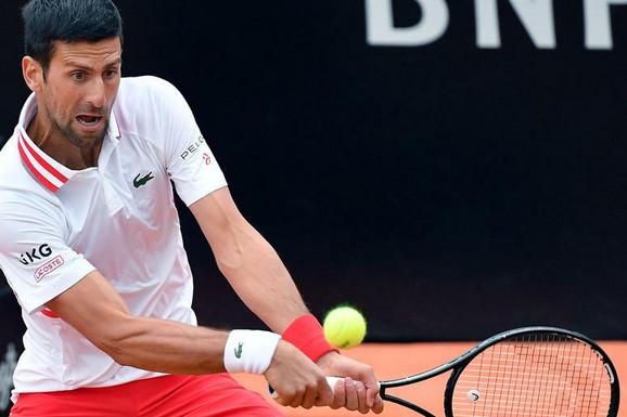 Novak celom svetu poslao MOĆNU PORUKU! Najbolje od Đokovića - čas tenisa u Rimu za četvrtfinale: Španac PREGAŽEN!
