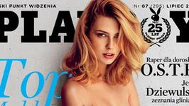 """Zajęła drugie miejsce w Top Model, a teraz kusi na okładce """"Playboya"""""""