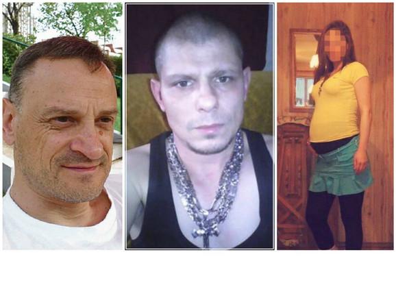 S leva na desno: Žrtva Dr Tomislav Paunović, besni muž Boban Vasiljević i trudnica čije ime je poznato redakciji