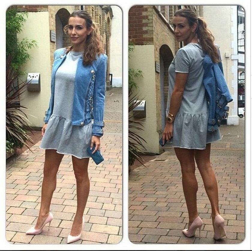 Sara Boruc i jej modne stylizacje