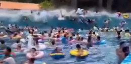 Przerażające chwile w wodnym parku rozrywki. 44 rannych