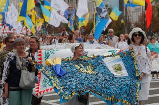Ukraina hucznie świętowała 30-lecie ogłoszenia niepodległości