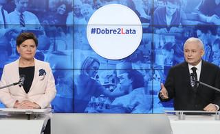 Kaczyński: Polakom żyje się lepiej i o to nam chodzi
