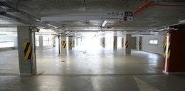 Nowy parking świeci pustkami