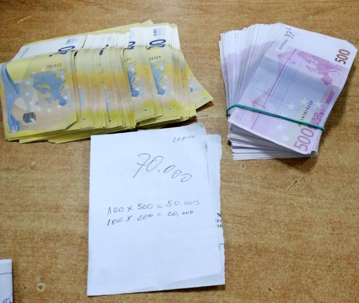 Neprijavljeni novac na Gradini