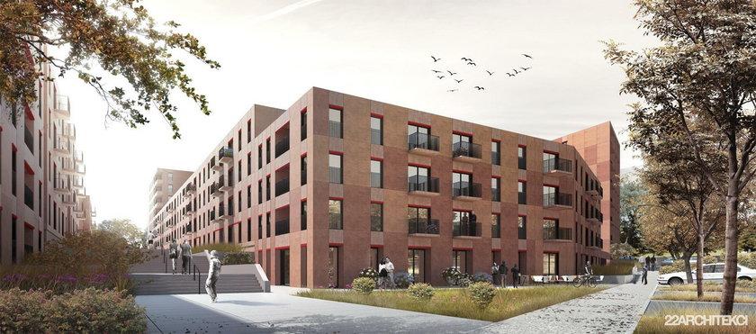 Katowice. Budowa mieszkań w Nikiszowcu w ramach rządowego programu Mieszkanie Plus