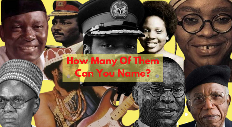 QUIZ: Can you name these Nigerian historical figures?