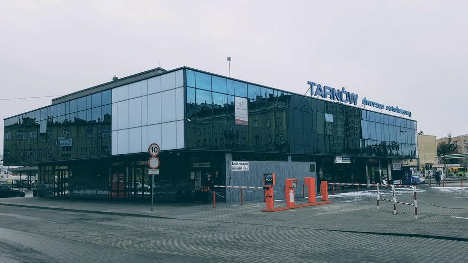 Dworzec autobusowy w Tarnowie
