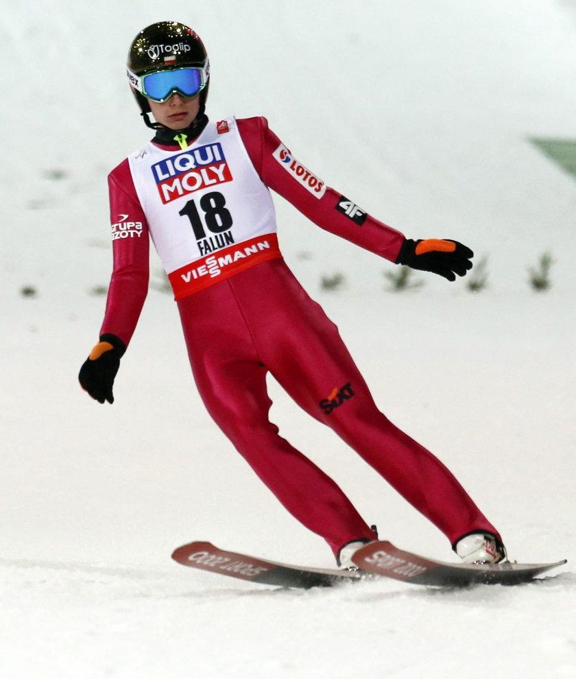 Ziobro to rewelacja konkursu w Falun