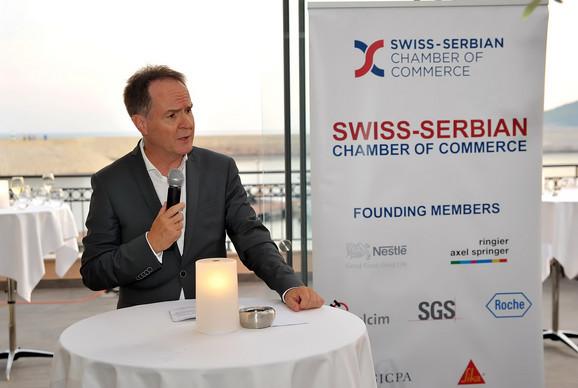 NJ.E. Filip Ge, ambasador Švajcarske za Republiku Srbiju i Crnu Goru
