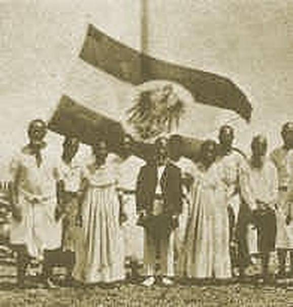 Ceremonija pripajanja Nemačkoj 1888.