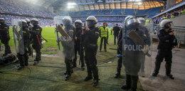 Kibole zatrzymani po meczu Lecha Poznań z Legią Warszawa