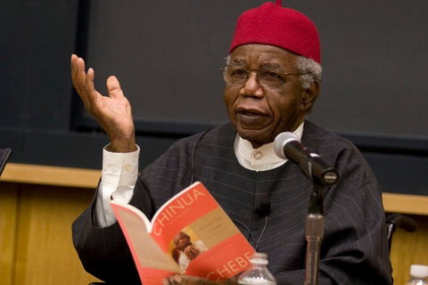 Chinua Achebe speaking about Things Fall Apart
