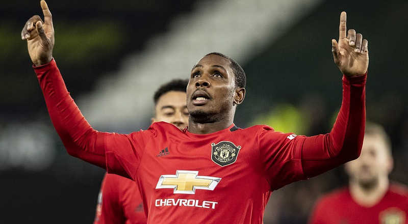 How has Odion Ighalo fared so far at Manchester United?