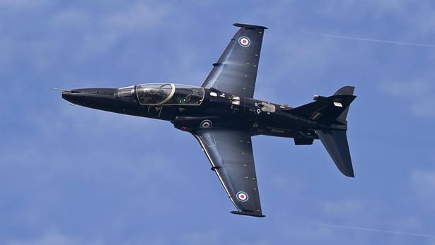 JEdn z samolotów oferowany w przetargu: Hawk AJT brytyjskiego koncernu BAE Systems.