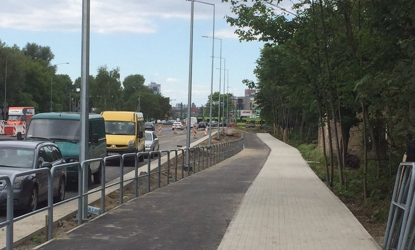 Remont ulicy Jana Pawła II