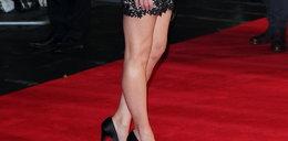 Kto pokazał zgrabne nogi na festiwalu w Londynie?