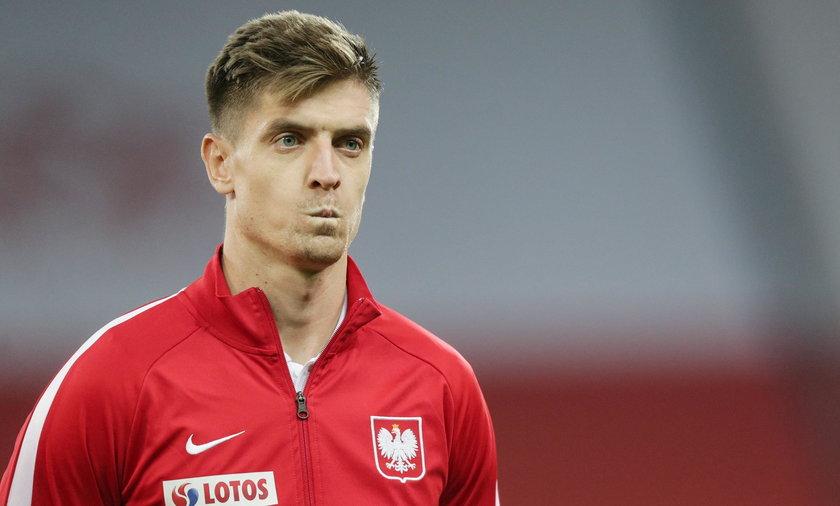 Krzysztof Piątek nie wystąpi w meczu z Anglią