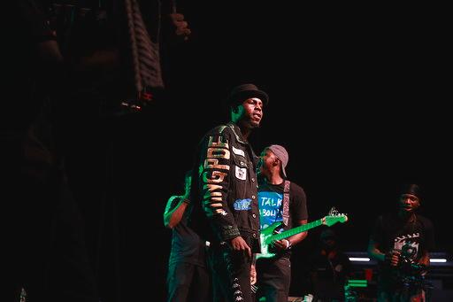 Mavin Records Rapper, Ladipoe performing at Upbeat Christmas Carnivaland.