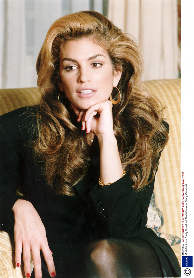 Cindy Crawford w 1992 roku