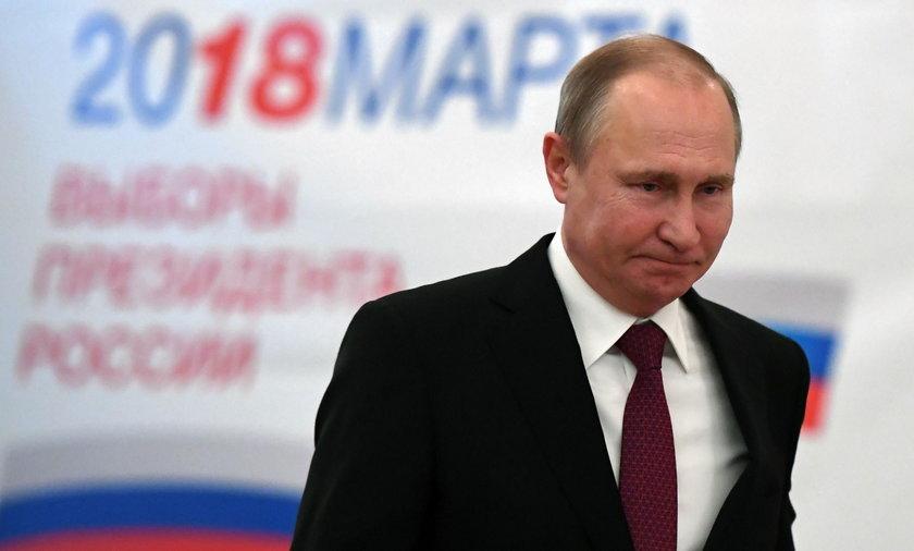 Władimir Putin zwyciężył w niedzielnych wyborach