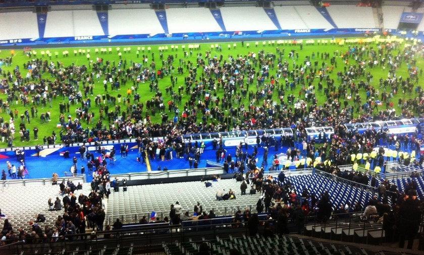 Niemcy dopiero w nocy opuścili stadion. I już uciekli z Francji