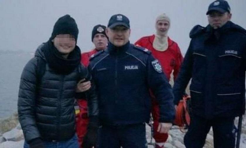 19-letni Argentyńczyk utknął na Wyspie Sobieszewskiej