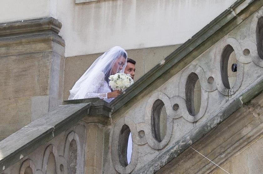 Ślub Agnieszki Radwańskiej