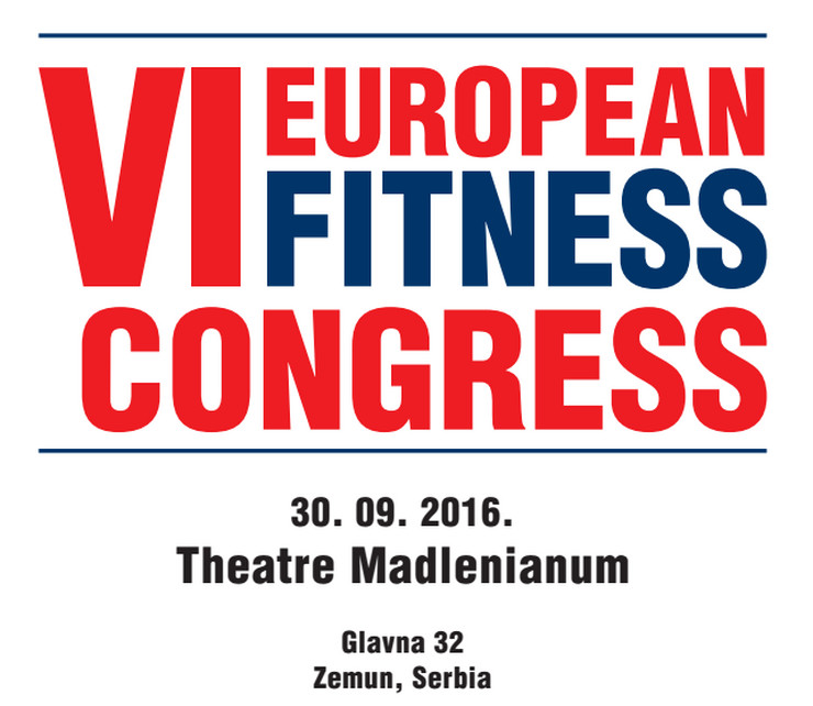 VI Evropski fitnes kongres u Beogradu