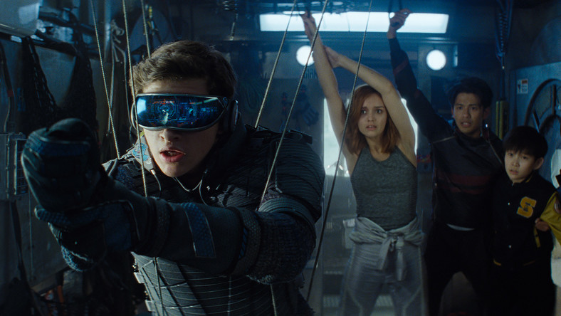 "Kadr z filmu ""Player One"" Stevena Spielberga"
