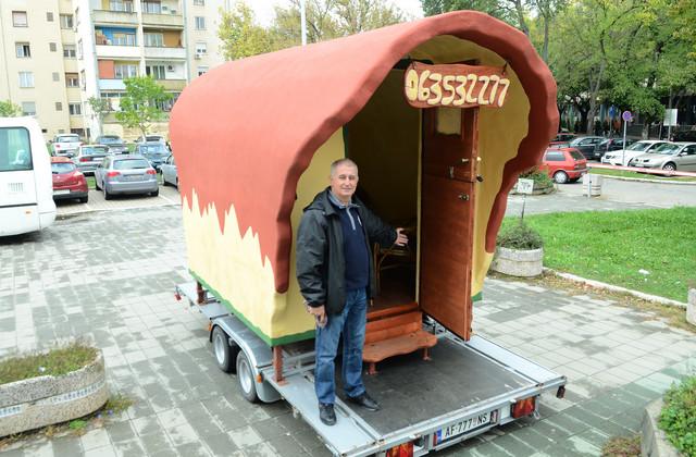 Radoslav Kremenovic patentirao način gradnje koji mu dozvoljava da pravi kuće kakvih god poželi oblika