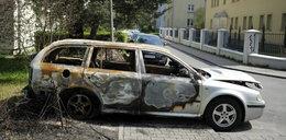 Taksówki w ogniu w Gliwicach!