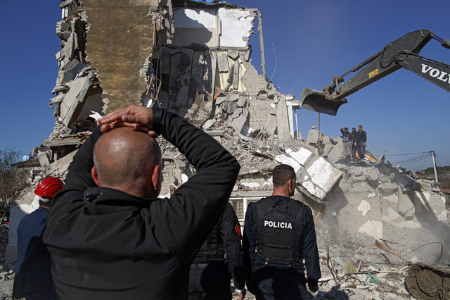 albanija zemljotres tumani
