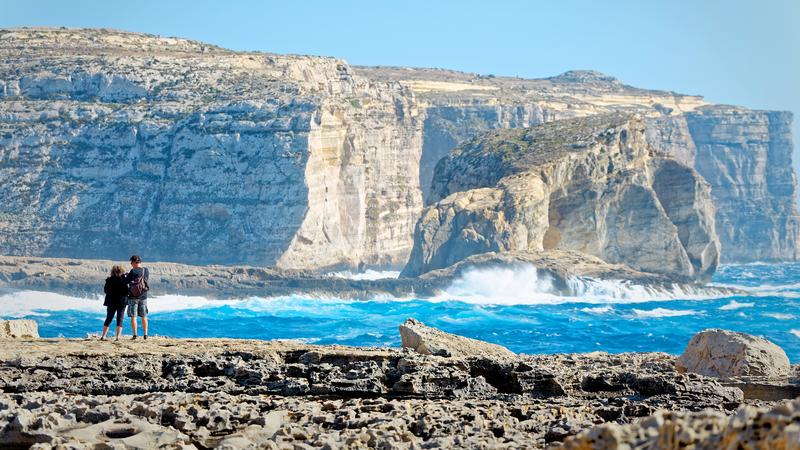 Klify San Lawrenz, Gozo