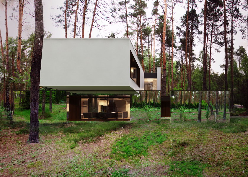 Dom według projektu Marcina Tomaszewskiego