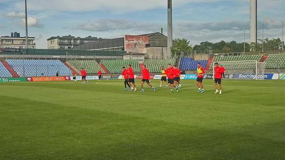 Trening reprezentacije Srbije