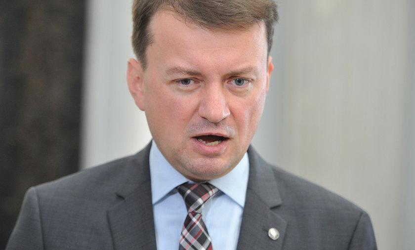 Mariusz Błaszczak, szef MSW
