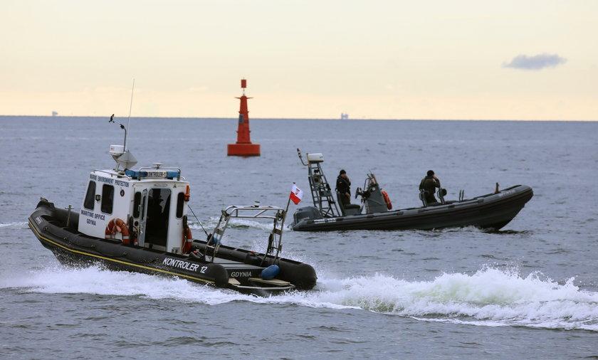 Wielka operacja u wybrzeży Gdyni