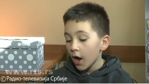 Dečak koji je donirao novac za decu sa invaliditetom