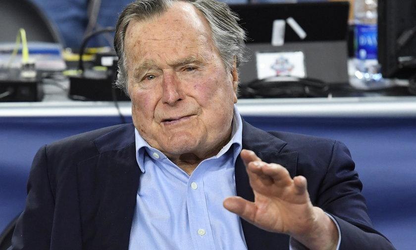 George H.W. Bush trafił w niedzielę do szpitala