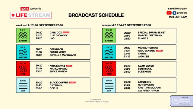Raspored emitovanja