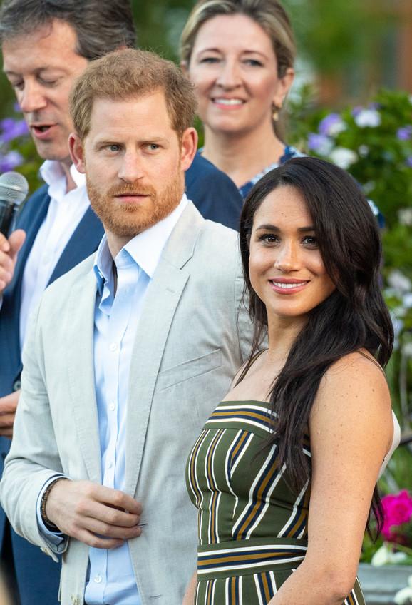 Princ Hari i Megan Markl u Kejptaunu