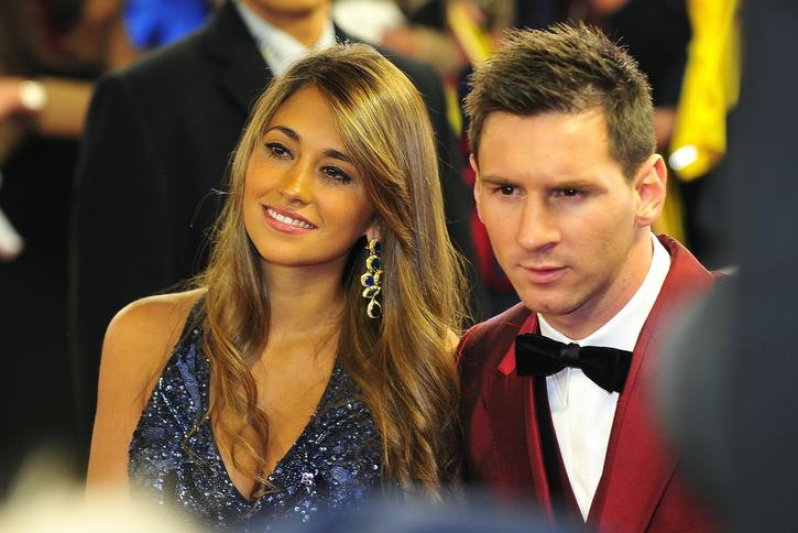 Antonella Rocuzzo Lionel Messi