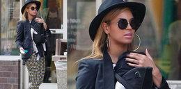 Stylizacja dnia: modna mama Beyonce