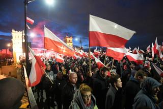W Marszu Niepodległości brało udział ok. 60 tys. osób
