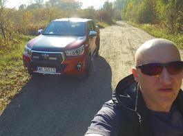 Toyota Hilux - Robert testuje