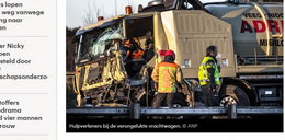 Dramat w Holandii. 5 osób zginęło w wypadku busa należącego do agencji pracy. Byli w nim Polacy?
