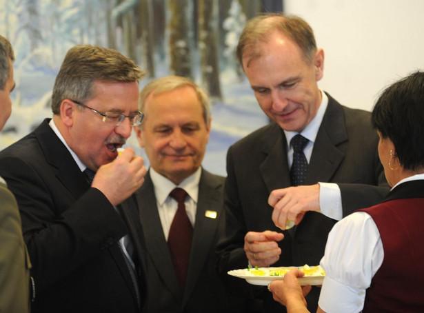 Bronisław Komorowski, Bogdan Klich oraz Stanisław Koziej