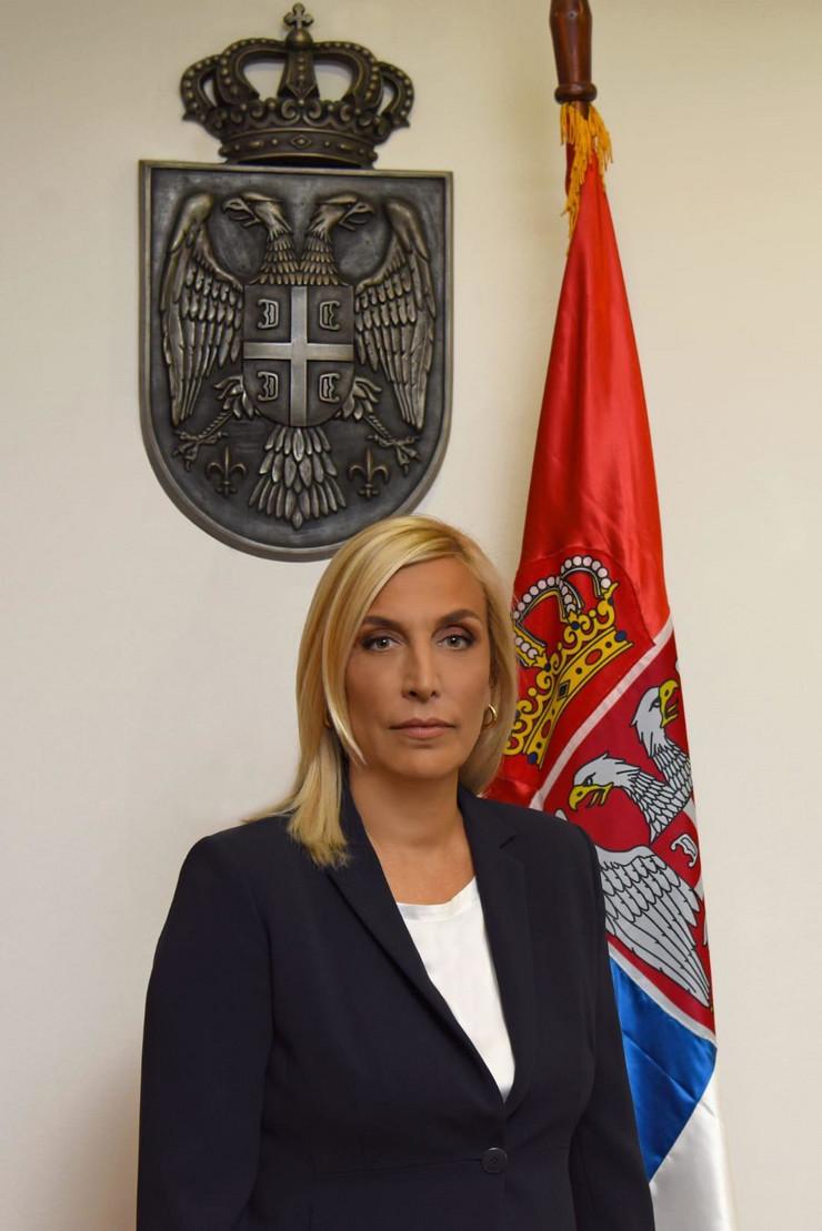 Maja Popović, ministarka pravde