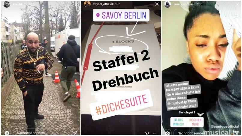 2 Staffel 4 Blocks So War Der Erste Drehtag Noizz